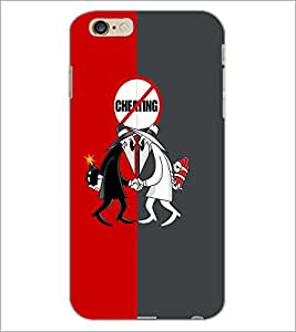 PrintDhaba Funny Image D-4187 Back Case Cover for APPLE IPHONE 6 (Multi-Coloured)