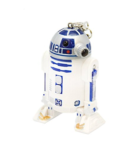 Star Wars R2-D2 LED Figural Keychain