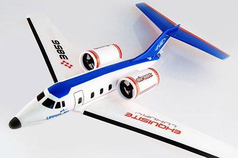 Air Earl RC Airplane Twin Engine Ready To Fly Corp