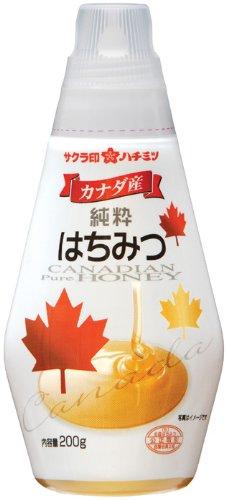 サクラ印 カナダ産純粋はちみつ 200g