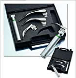 ADC Laryngoscope Set, Macintosh, Fiber Optic, Latex-Free