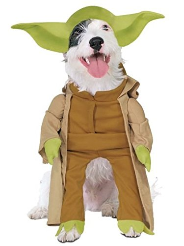 Rubies Costume Star Wars Collection Pet Costume, Yoda with Plush Arms, Medium