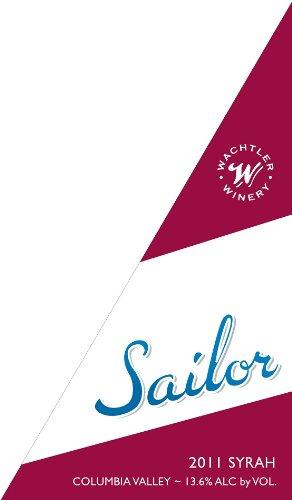 2011 Wachtler Winery Sailor Syrah 750 Ml