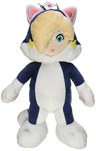 "Little Buddy Super Mario 3D World 9.5"" Neko Cat Rosalina Stuffed Plush"