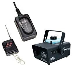 CHAUVET H1100 Fog/Smoke Machine + Wireless Remote! by CHAUVET