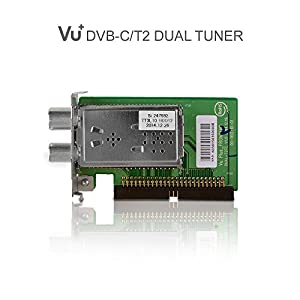 VU+® Dual Tuner DVB-C/T2 (Single Housing) Duo2 / Solo SE V2 / Ultimo / Uno