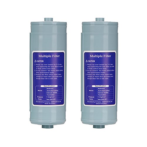 2017 New Jupiter Ionways Water Ionizer Biostone Compatible Replacement Filter + Cleaning Filter Set for Delphi Athena Melody Venus Orion Aquarius Neptune Mavello (Jupiter Biostone Filter compare prices)