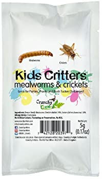 Kids Critters Mealworms & Crickets