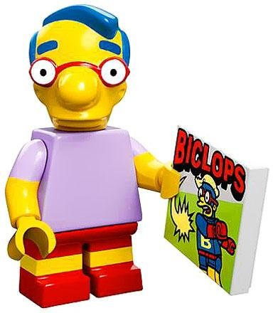 Lego 71005 The Simpson Series Milhouse Simpson Character Minifigures