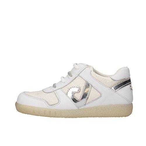 BALDUCCI sneakers bambina 29 EU bianco pelle tessuto AF362-B