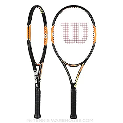Wilson Burn 100 Tennis Racquet (Black)