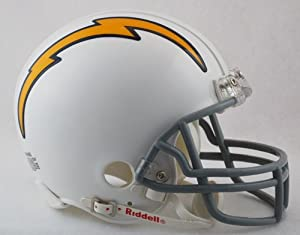 San Diego Chargers 1961-1973 Throwback Riddell Mini Football Helmet by Creative Sports