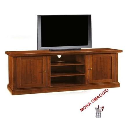 CLASSICO porta TV 2 porte legno 3 cassetti a giorno soggiorno sala camera 365 46x160x56