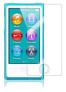 Skinomi TechSkin - Apple iPod Nano 7th Generation 7G Screen Protector Ultra Clear Shield + Lifetime Warranty (2-PACK)