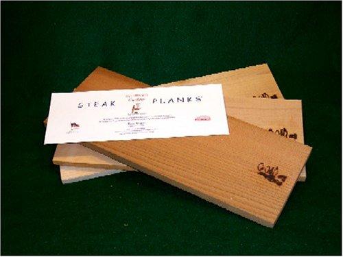 Grill Master Grilling Steak Planks Kit (4 Pack Each Of Cedar, Alder, & Maple)