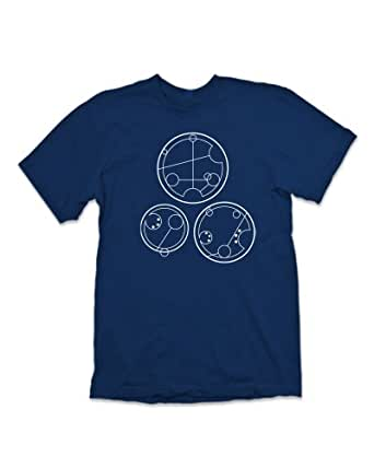 'Whovian and Proud' Geek T-Shirt Inspired By Dr Who - (Royal Blue) XXL