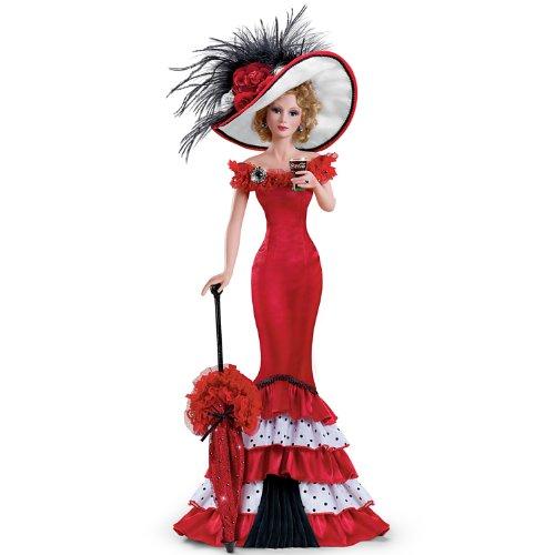 [Sweet Sophistication: COCA-COLA Fashion Figurine by Ashton Drake] (Coca Cola Dress)