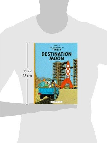 Tintin. Destination Moon (Hb) (The Adventures of Tintin)