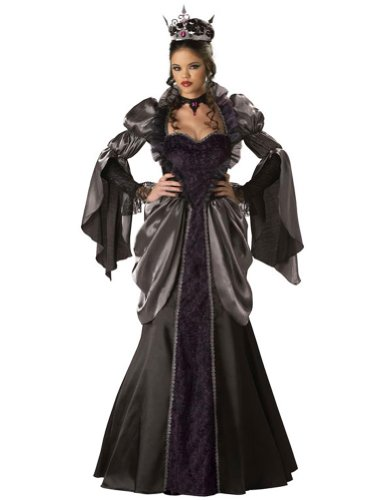 Adult-Costume Wicked Queen Lg Halloween Costume - Adult Large