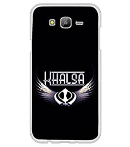 Khalsa 2D Hard Polycarbonate Designer Back Case Cover for Samsung Galaxy E5 (2015) :: Samsung Galaxy E5 Duos :: Samsung Galaxy E5 E500F E500H E500HQ E500M E500F/DS E500H/DS E500M/DS