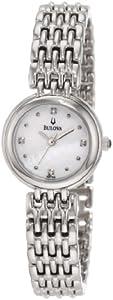 Bulova Women's 96P122 Diamond Petite Classic Watch