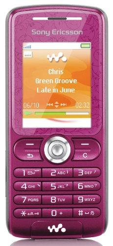 Sony Ericsson W200i Handy (Triband) sweet pink
