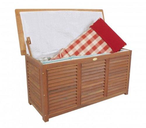 Auflagenbox Eukalyptus FSC-Holz geölt