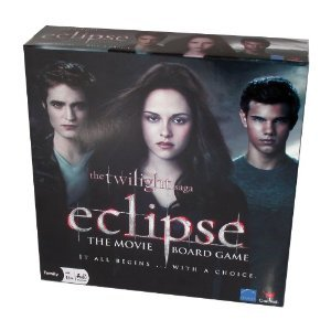 THE TWILIGHT SAGA ECLIPSE THE MOVIE BOARD GAME [IT ALL BEGINS WITH A CHOICE.] [AGES 13 AND UP 2-8 PLAYERS]