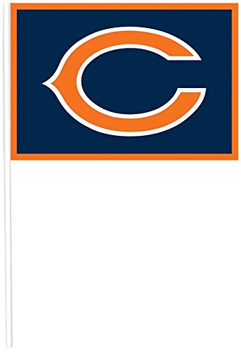 DesignWare Chicago Bears NFL Plastic Flags Picks
