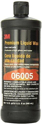 3M 06005 Premium Liquid Wax - 1 Quart (Organic Car Wax compare prices)