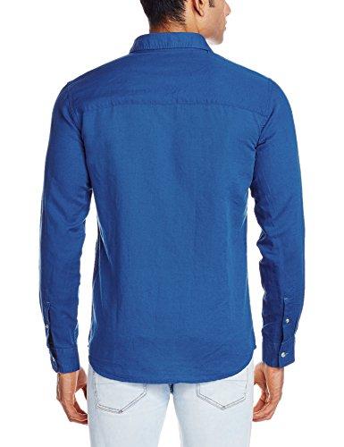 Wrangler-Mens-Casual-Shirt-8907222245610WRSH5810LargeRoyal-Blue