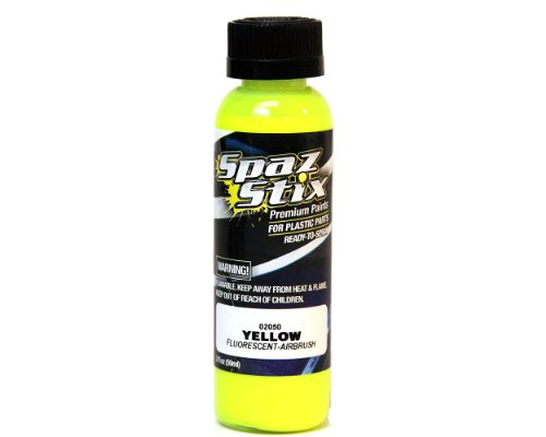 Yellow Fluorescent Airbrush Paint 2oz