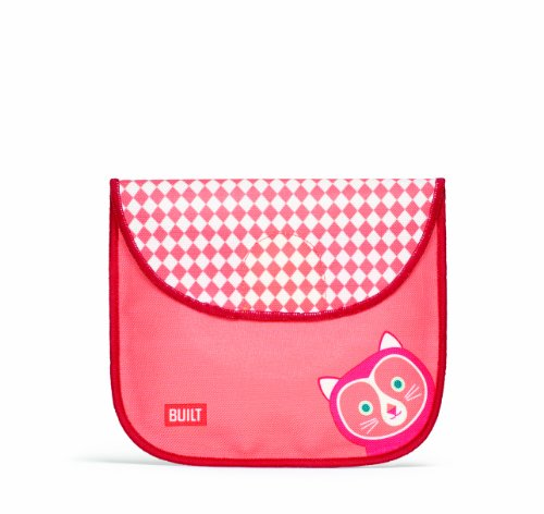 BUILT NY Big Apple Buddies Insulated Sandwich Bag, Cornelia Kitty (BASB-CAT) - 1