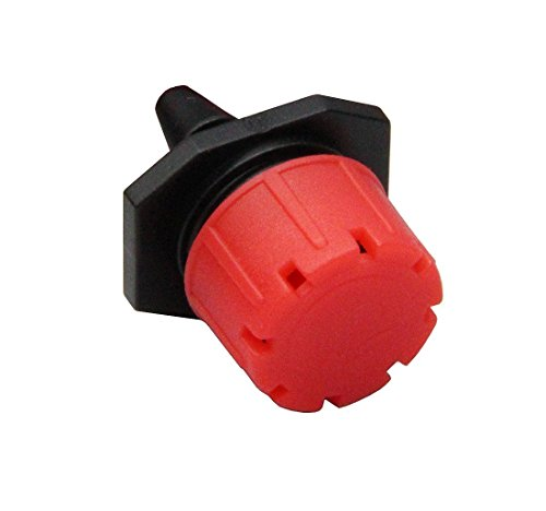 """ZFE 52Pcs Adjustable Irrigation Drippers Sprinklers Emitter Drip System On 1/4"""" Barb With ZFE wristband"""