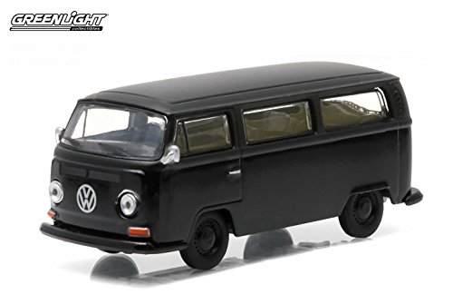 1968 VOLKSWAGEN TYPE 2 BUS * Black Bandit Collection Series 12 * 2015 Greenlight Collectibles Limited Edition 1:64 Scale Die-Cast Vehicle