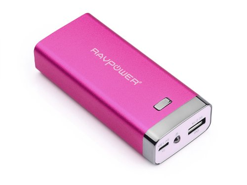 Ravpower® Luster Cube 6000Mah Backup External Battery Pack Power Bank Charger For Iphone 5S, 5C, 5, 4S, 4, Ipod, Ipad Air, Mini2 (Apple Adapter Not Provided); Samsung Galaxy S4, S3, S2, Note3, Note 2; Nexus 5, Nexus 4, Htc One, Evo 4G, Thunderbolt; Nokia