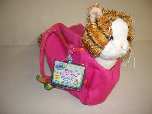 Webkinz Strpd Aly Cat &Carrier2Pc Asst
