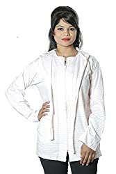 Mahi Fashion Girls Women Ladies Summer Coat (Pink Dots) Size - XL (Image 2)