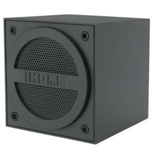 Ihome Bluetooth Mini Cube Gray