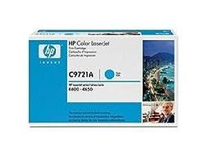 C9721A HP Toner Cartridge 641A Cyan HP 641A original Laserjet Tonerkassette 8000 Seiten/ für HP Color Laserjet 4600/N/DN/DTN/HDN.