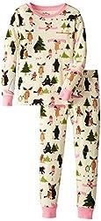 Hatley Little Girls'  Pajama Set