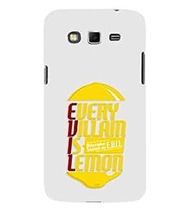 EPICCASE Evil Lemon Mobile Back Case Cover For Samsung Galaxy Grand Max (Designer Case)