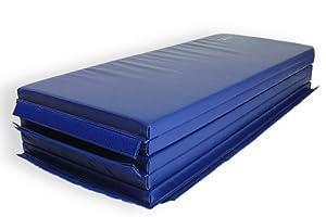 "Bonded Foam Gymnastics Mat - 5' x 10' x 2"" V-4 Blue"