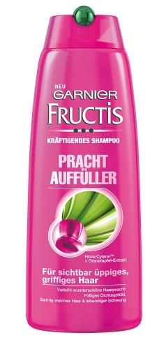 Garnier Fructis - Shampoo fortificante per capelli Densi e Corposi, 6 pz. (6 x 250 ml)