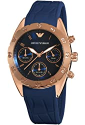 Emporio Armani Women's AR5939 Sport Blue Chronograph Dial Watch