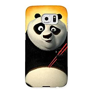 Ajay Enterprises Elite Cuty Kungfupanda Back Case Cover for Samsung Galaxy S6