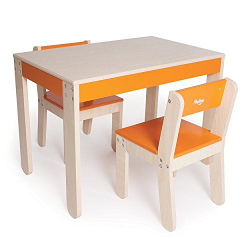 P'kolino Little One's Table and Chairs, Orange