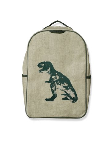 SoYoung Grade School Backpack - Green Dino - 1