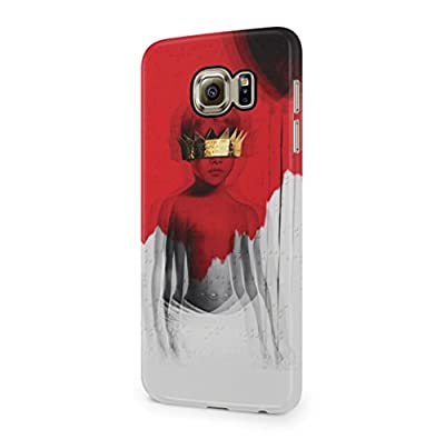 Rihanna Album ANTI Cover Samsung Galaxy S6 (Not Edge) Hard Plastic Phone Case Cover