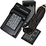 2Pcs Battery+Charger for Fuji NP-45 NP-45A